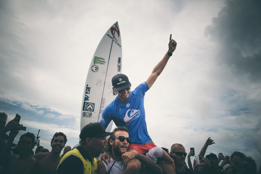 OWEN WRIGHT WINS  THE QUIKSILVER PRO GOLD COAST
