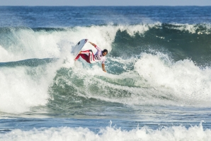 Oney Anwar delivered the highest heat scores on Day 1 of the Ballito Pro pres. by Billabong WSL / Kelly Cestari