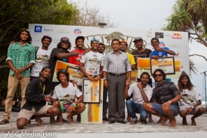 Inaugural Maldives Open 2014 Closes with President Abdulla Yameen