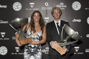 WSL Awards Honor World's Best Surfers