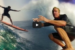 WHO IS JOB 4.0:SOFT TOP SURFING AT JAWS