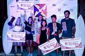 REnextop Asian Surfing Tour (RAST) Celebrates Winners in Four Divisions on Finals Day at Canggu, Bali