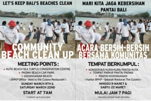 BALI BEACH CLEAN UP PROGRAM