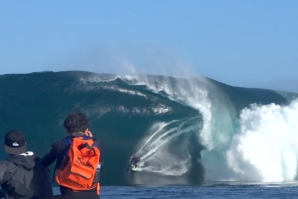 """swell of a decade"" hit Western Australia's coast and it was one for the history books"