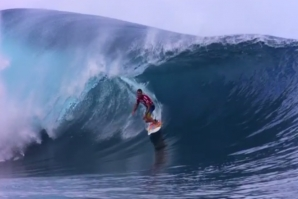 "JOEL PARKINSON GETS READY FOR THE TOUR'S ""SCARIEST WAVE"""