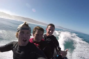 Big Wave Rafting and Shopping Cart Madness with Jamie O'Brien