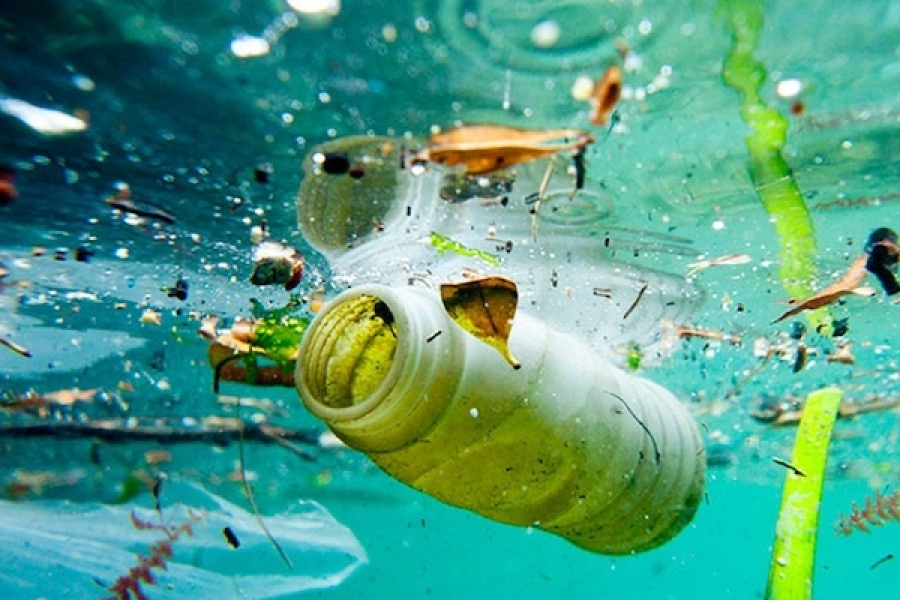 FIVE COUNTRIES ARE RESPONSIBLE FOR 60% OF PLASTIC POLLUTION IN OCEANS