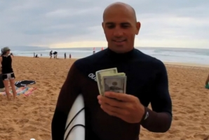 KELLY SLATER WINS 'WAVE OF THE WINTER' FOR DECEMBER