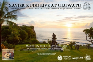 XAVIER RUDD TO PERFORM AT ULUWATU SURF VILLAS