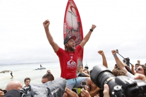 The first victory ever in a WCT event