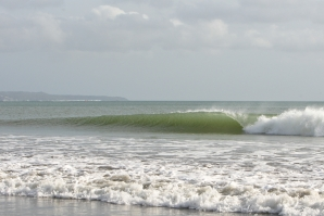 The waves of Halfway Kuta Beach