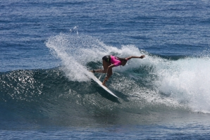 History Made on Day 1 of Siargao International Women's Surfing Cup​