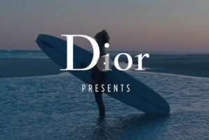 DIOR USES THE SURF LIFE STYLE IN A DOCUMENTARY