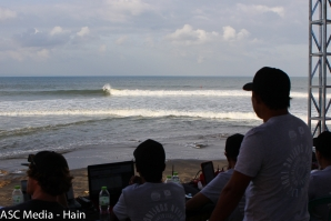 Men's Shortboard Division on day two of the REnextop Asian Surfing Tour's