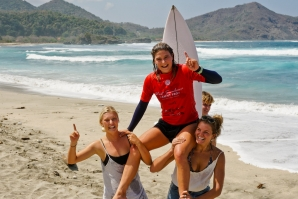 Vittoria Farmer and Liam O'Brien Win Inaugural West Sumbawa Pro