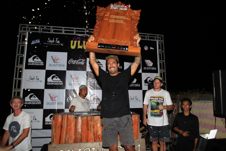 "Tai ""Buddha"" Graham Win's the Uluwatu Challenge 2016"