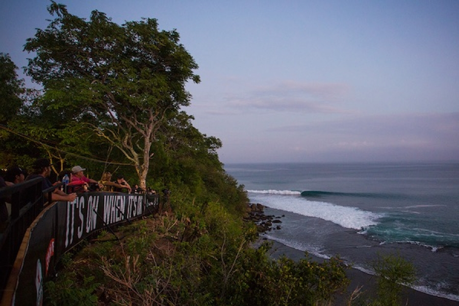 RIP CURL CUP Padang Padang called off for today