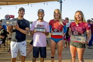 WORLD SURF LEAGUE HOLDS GROUNDBREAKING TEST EVENT AT KELLY SLATER'S SURF RANCH
