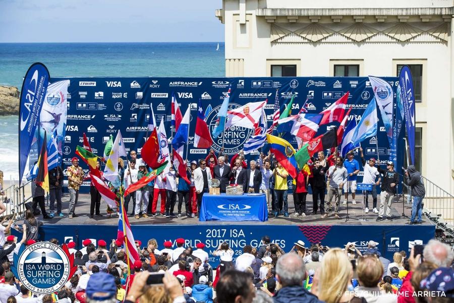 86b6f27bba 2017 ISA World Surfing Games Declared Open in Biarritz