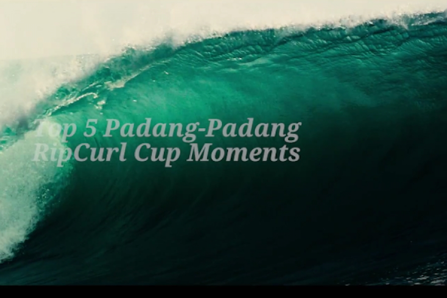 Top 5 Moments in Event History | 2017 Rip Curl Cup Padang Padang