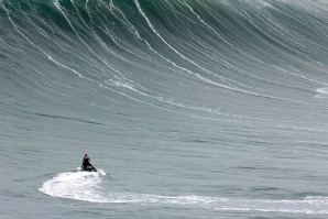 ALL EYES ON NAZARÉ TODAY