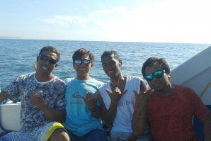 DEDE SURYANA AND SOME FRIENDS SURFTRIP INDONESIA