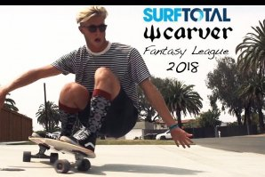 Ranking final da Surftotal Fantasy by Carver Skateboards