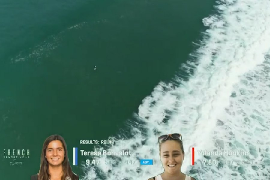 BONVALOT AVANÇA AOS 1/4 DE FINAL NO WSL FRENCH RENDEZ VOUS