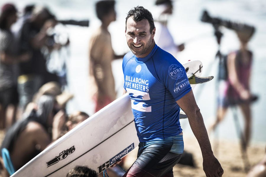 Parko, na Billabong por mais 6 temporadas.