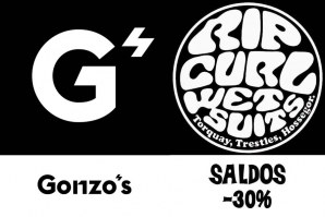 GONZO'S: RIP CURL WETSUITS -30%