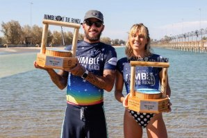 DUPLA FILIPE TOLEDO / COCO HO VENCE O WSL RUMBLE AT THE RANCH 2020