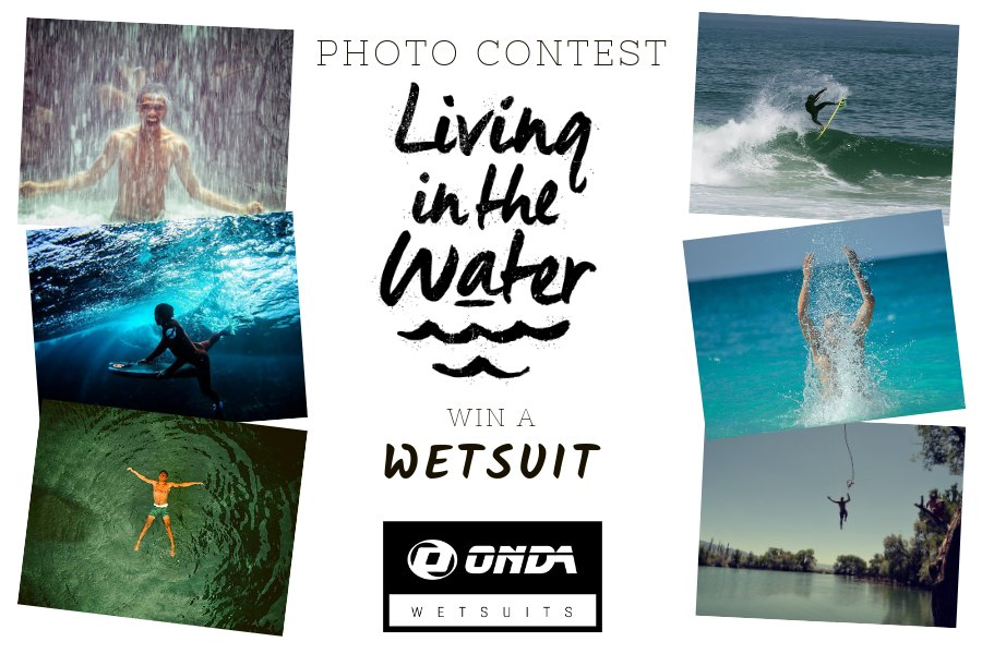 ONDA WETSUITS lança Concurso de Fotografia com o tema Living in the Water.