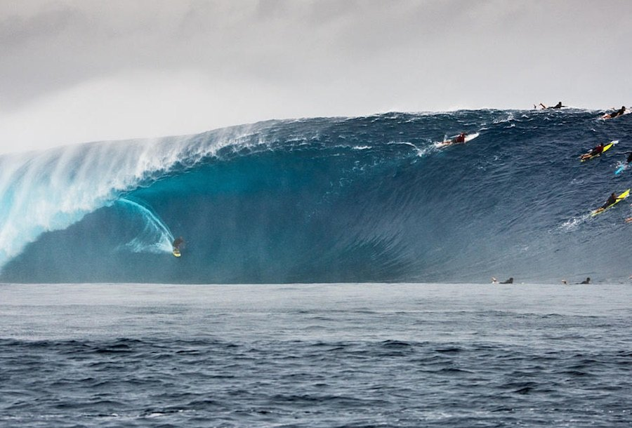 2019 XXL Biggest Wave Entry: Ramon Navarro em Cloudbreak WSL / Ted Grambeau
