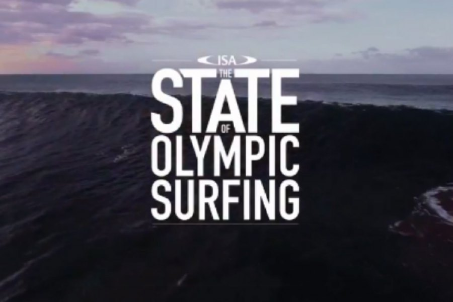 JORDY SMITH E SALLY FITZGIBBONS FALAM SOBRE O SURF OLÍMPICO
