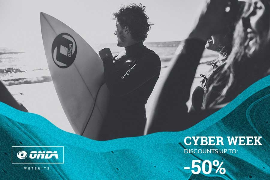Última chamada para a Cyber Week 2018 by ONDA Wetsuits