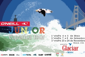 O'NEILL JUNIOR CAPARICA TOUR 2013 ARRANCA SÁBADO