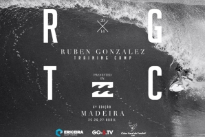 RUBEN GONZALEZ TRAINING CAMP BY BILLABONG ACONTECE NA MADEIRA