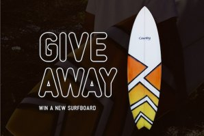 GIVEAWAY COUNTRY SURFBOARDS - NATAL 2019