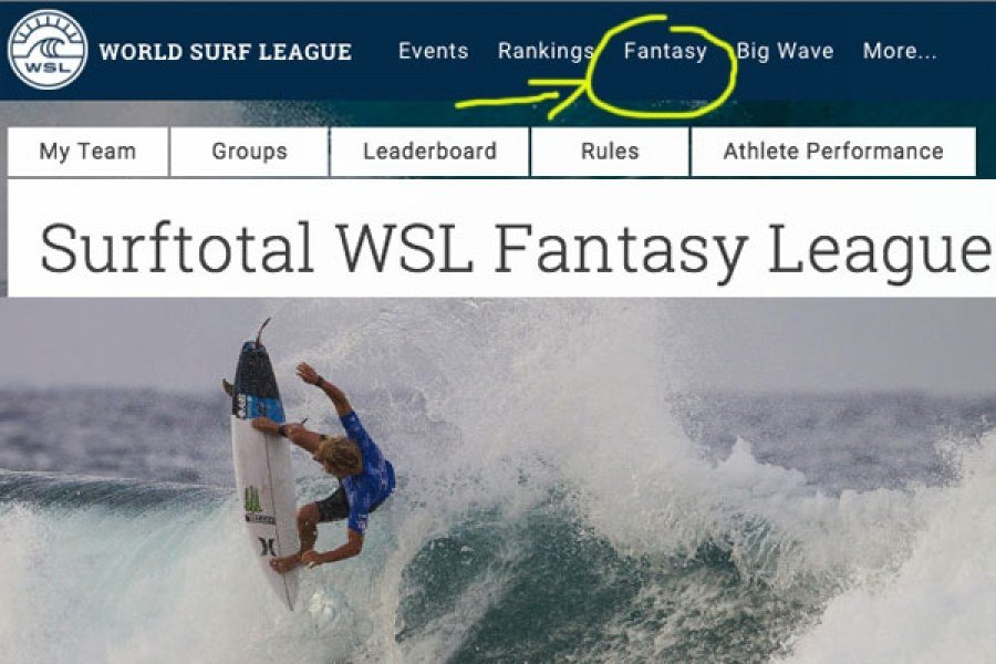 Inscreve-te já na Fantasy League da Surftotal!
