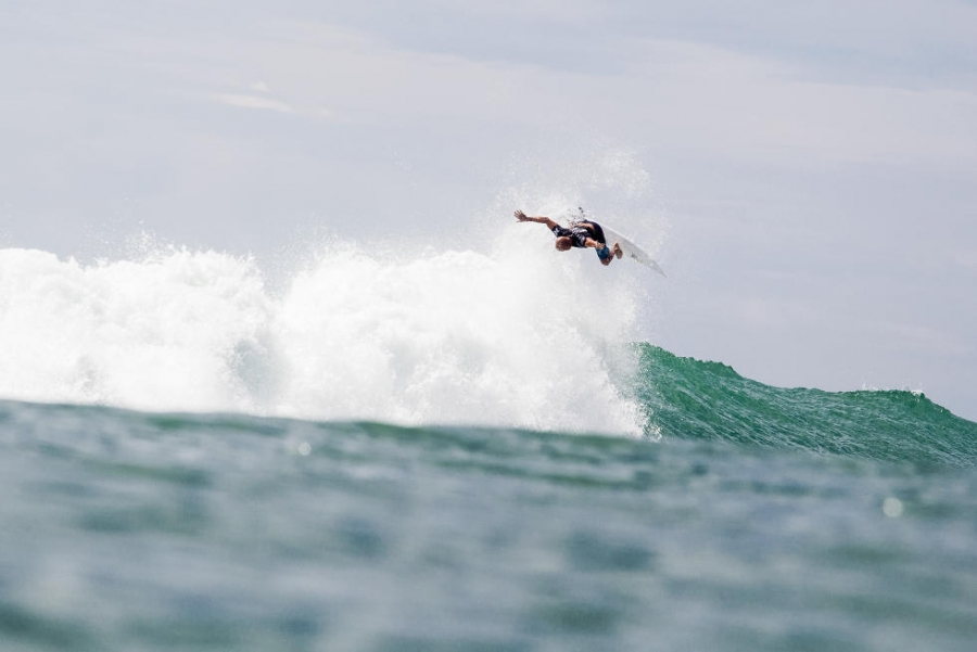 Kelly Slater deu que falar na etapa californiana do Tour